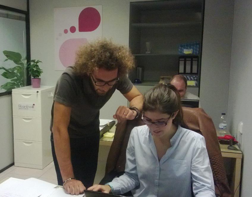 Un día normal en nuestra oficina