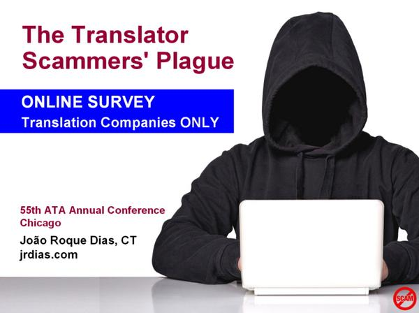 The translator scammers' plague