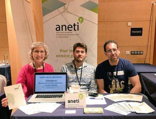 ANETI, presente en el VIII Congreso de la Sociedad Española de Lenguas Modernas (SELM)