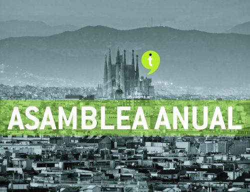 La Asamblea anual de ANETI se celebrará el viernes 10 de mayo en Barcelona