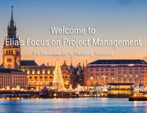 El próximo evento de ELIA se celebrará los días 5 y 6 de diciembre en Hamburgo