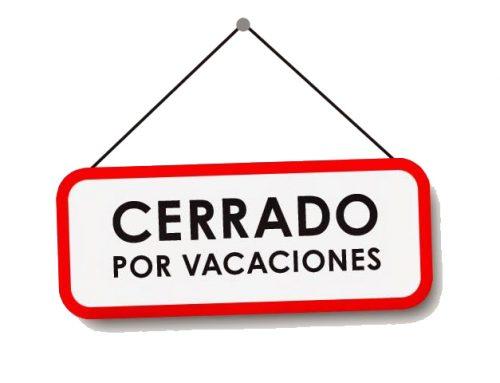Cerrado por vacaciones¿Sin traducciones en agosto?